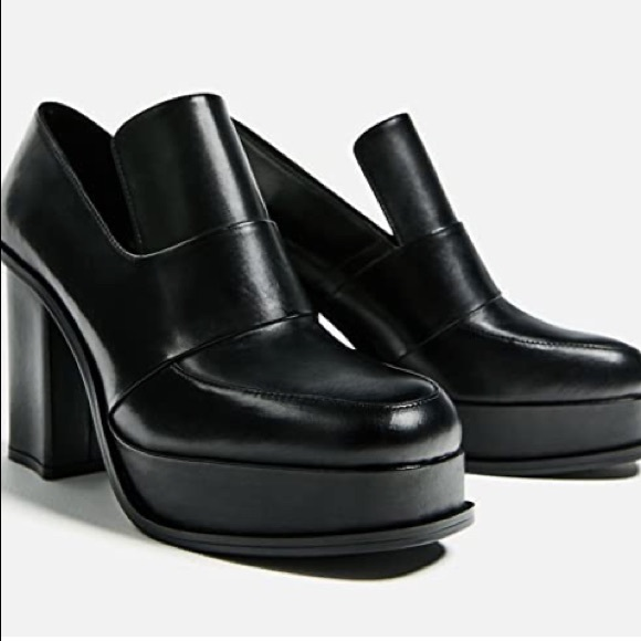BOGO free! Zara Leather Platform Loafer